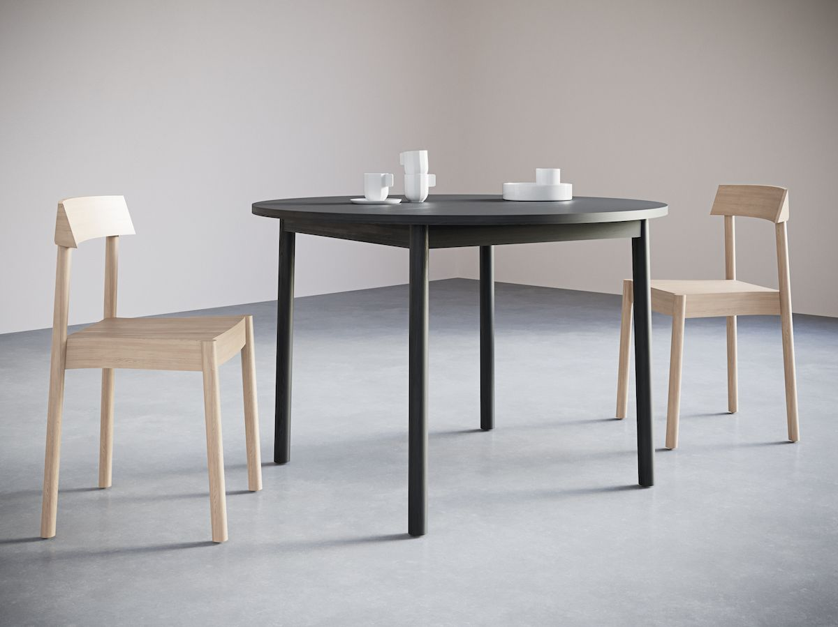 2-3. Round Table. Chairs&Objects