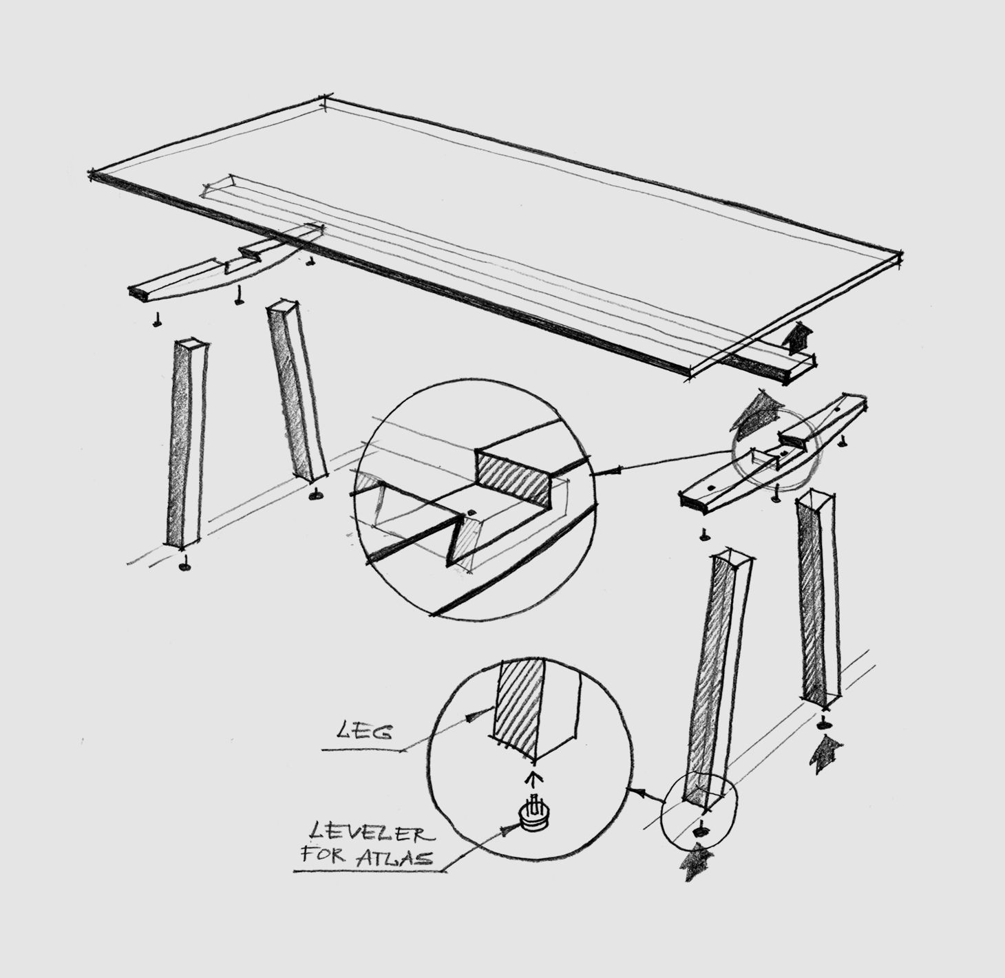 Dove Table Scheme