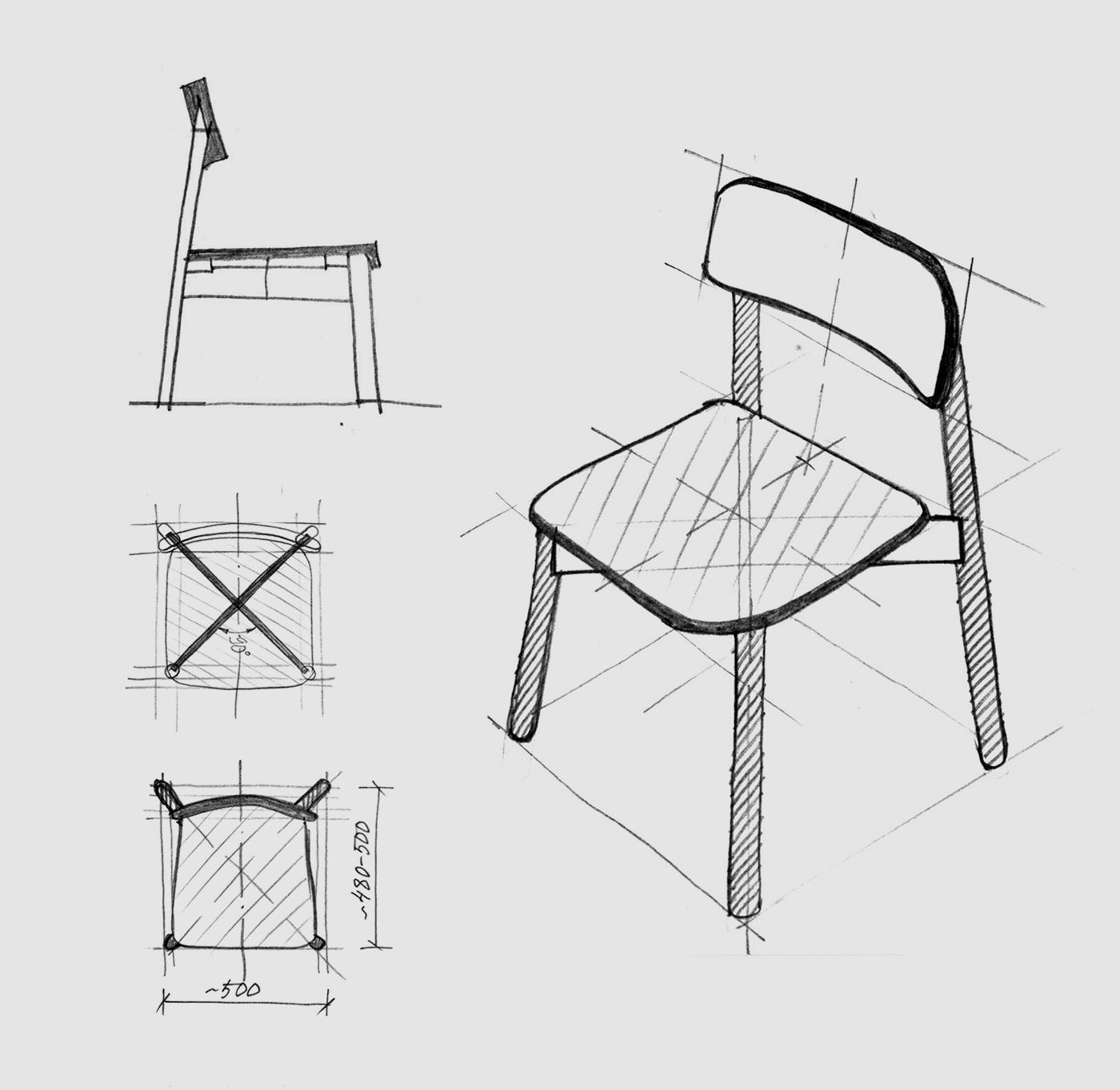 Jasny Side Chair Upholstered scheme