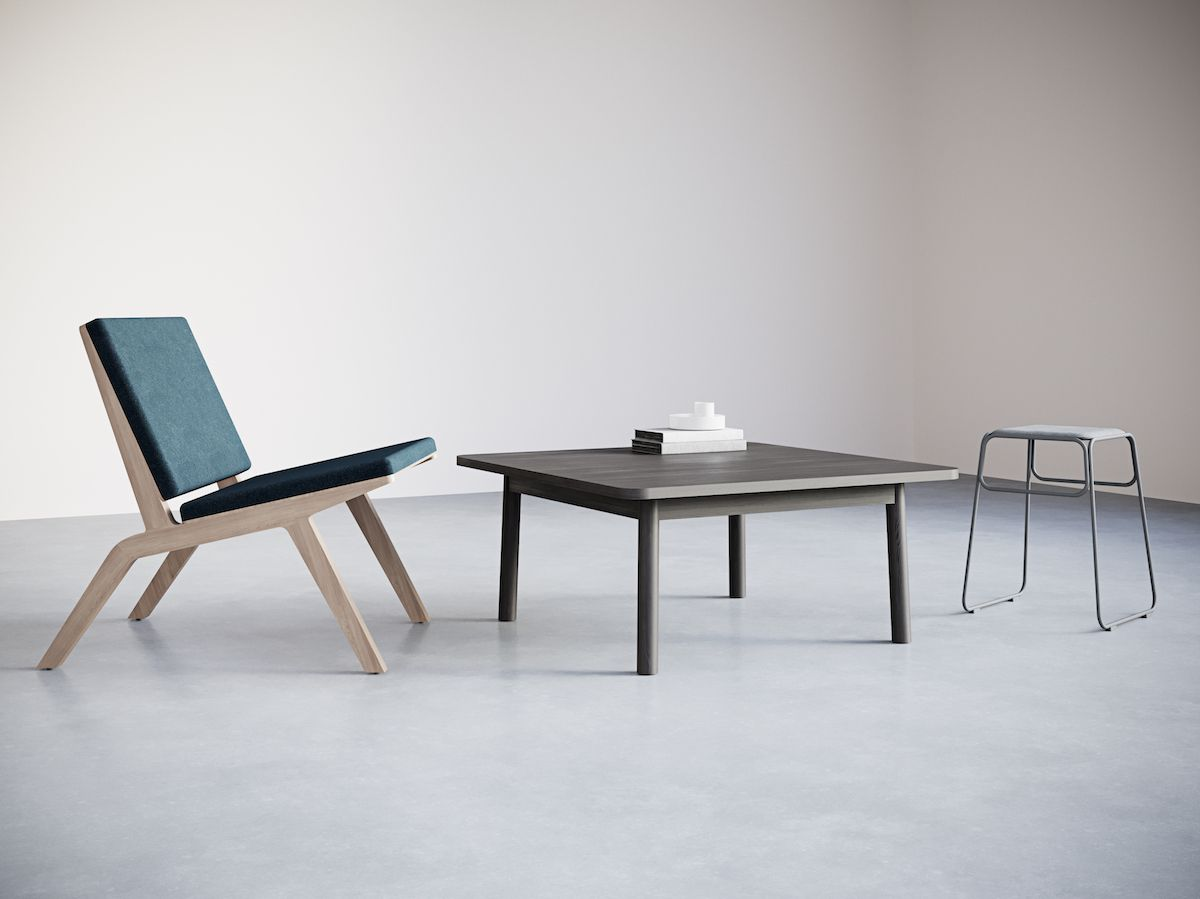 5-3.Square Сoffee Table. Chairs&Objects